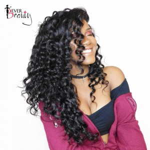 Brazilian 13x6 Lace Front Wigs Loose Wave Pre-Plucked Natural Hairline 150% Density Lace Front Wigs