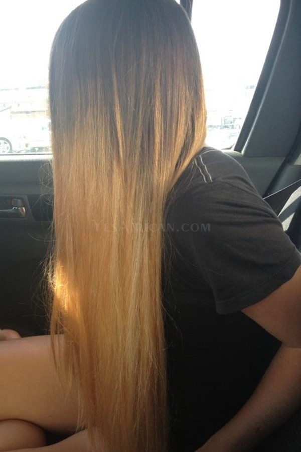 Ombre Hair Weave Color1b27 Straight Virgin Human Hair 3 Bundles