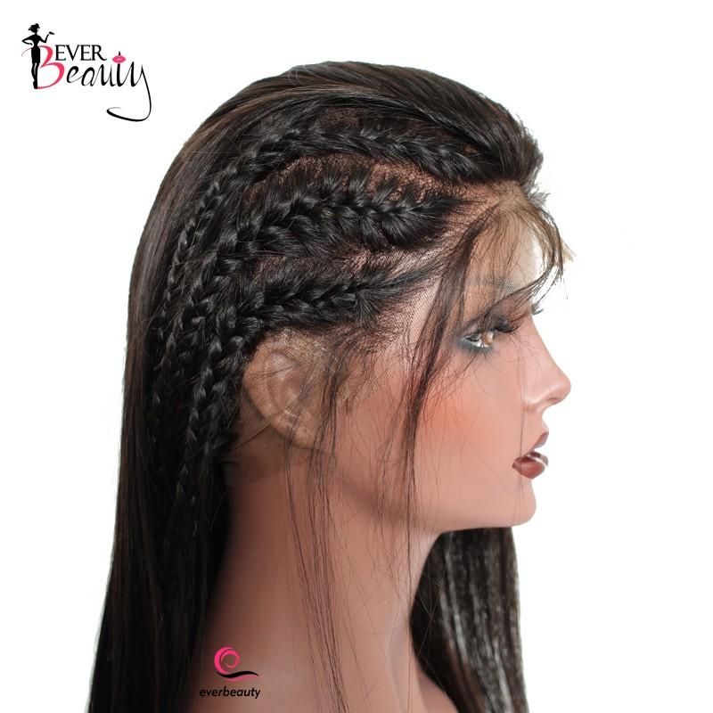 Pre Plucked 360 Lace Wigs 180% Density Full Lace Human Hair Wigs Virgin  Brazilian Straight ... 830916378