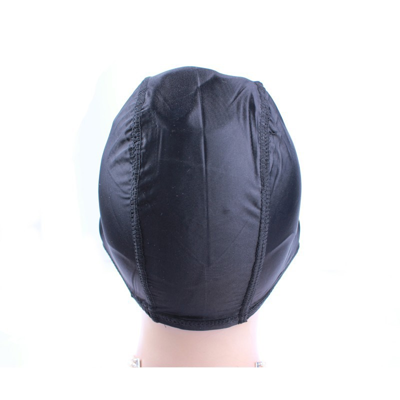 how to make a wig on a dome cap