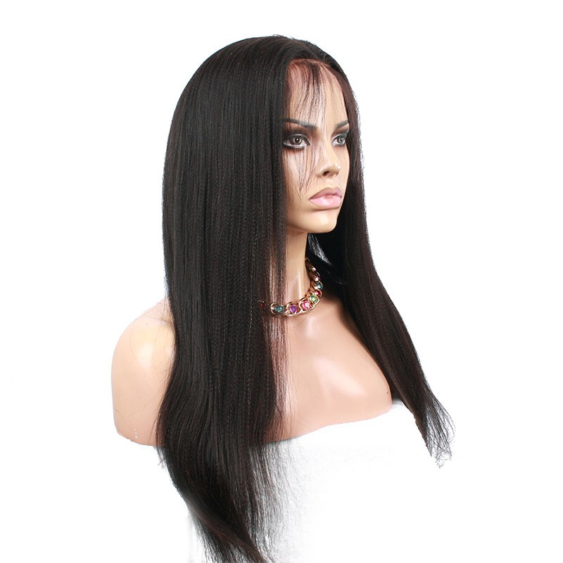 Natural Color Light Yaki Straight Unprocessed Peruvian Virgin Human