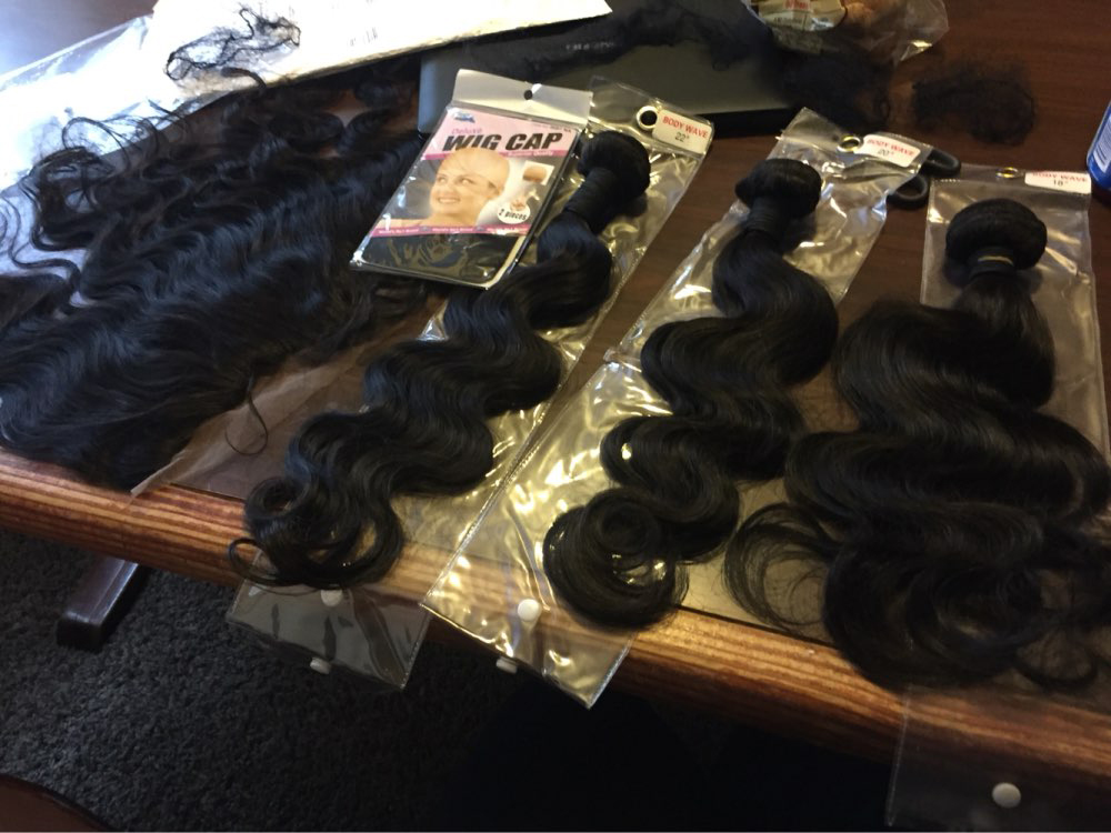 body wave lace frontal closure with bundles